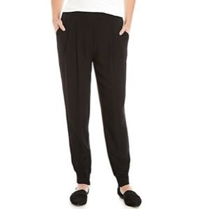 NWT Eileen Fisher Silk Jogger Ankle Pants